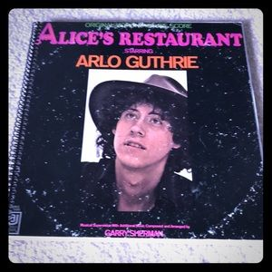 Arlo Guthrie Alice's Restaurant album notebook